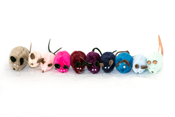 Feline Fun Factory's The Mice cat toys
