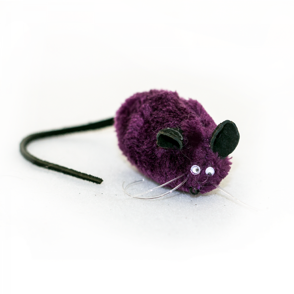 Purple Mice toy for cats